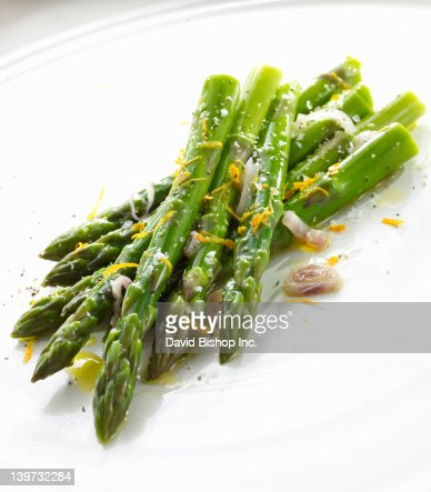 Asparagus with Shallots and Lemon Zest