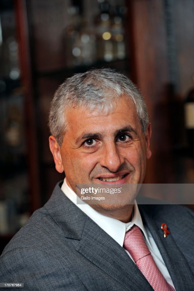 Aspen Group Chief Executive Stephen Saad poses on September 15, 2010 in Johannesburg, South Africa.