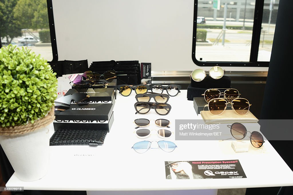Aspex products are displayed at the BETX gifting suite during the 2016 BET Experience on June 25, 2016 in Los Angeles, California.