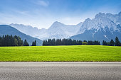 alps mountains on background