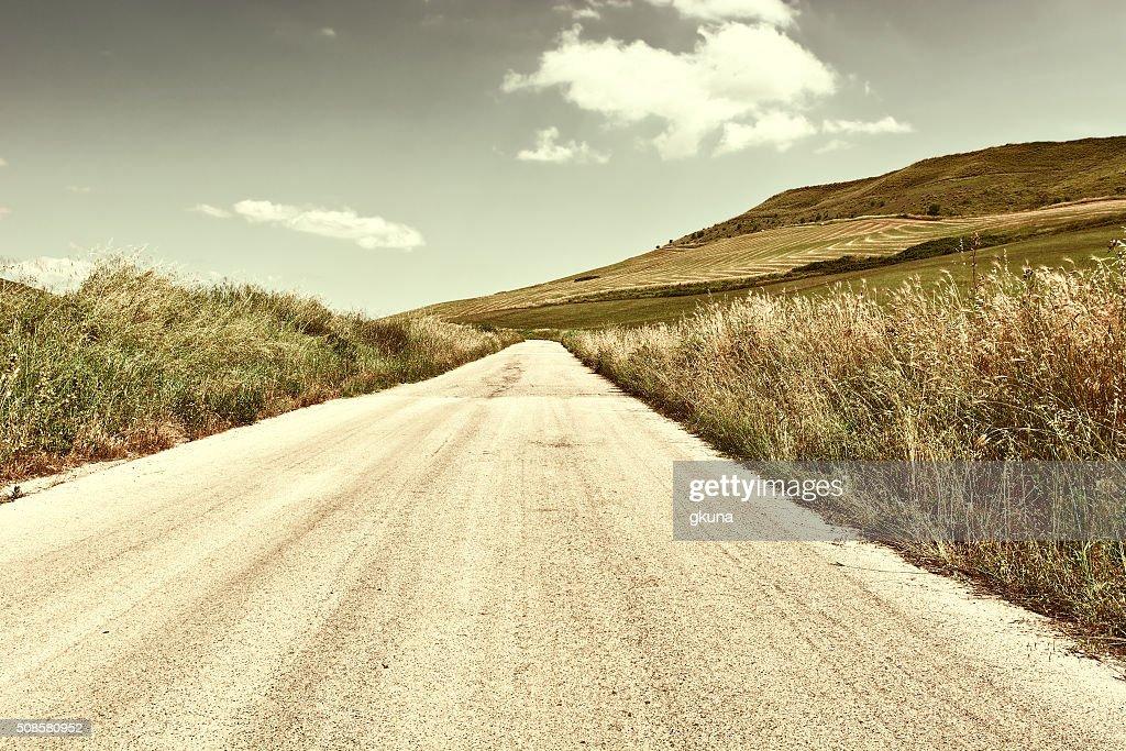 Asphalt Road : Stock Photo