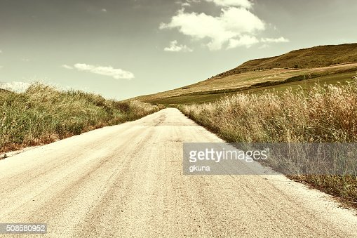 Asphalt Road : Stock Photo
