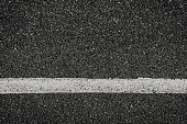 Asphalt texture background with marking lines