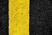 Road, Dividing Line, Asphalt, Textured, Textured Effect