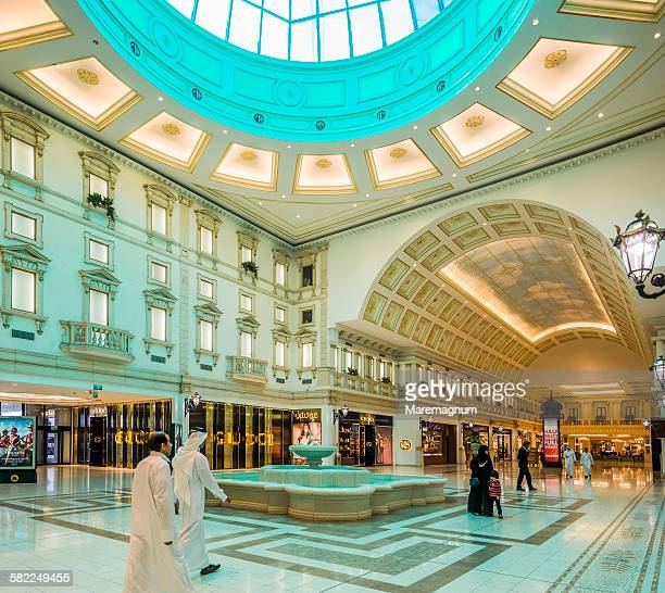 Aspire Zone, The Villaggio Mall, the luxury area