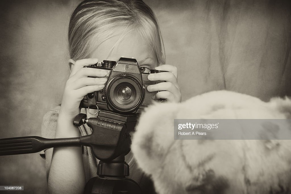 Aspiring Photographer : Stock Photo