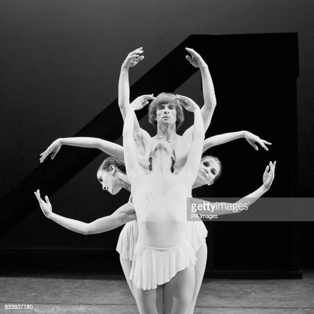 Asrolgy and mythology intertwine as Rudolf Nureyev and dancers of the Dutch National Ballet form this scorpion like figure when rehearsing for a...