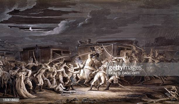 Assassination of the French plenipotentiaries at Rastadt April 28 1789 French Revolution France 18th century