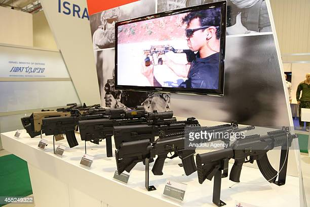 Assault Rifle 762mm ACE NC Assault Rifle 556mm X95 Rifle/Carbine 556mm X95 SMG 9mm X95L 556mm and X95 R 556mm of Israel Weapon Industries are...
