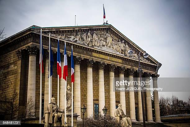 Assemblee nationale, Paris, France