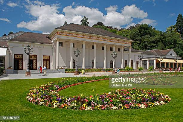 Assembly rooms casino and gardens of the health resort of BadenBaden BadenWuerttemberg Germany