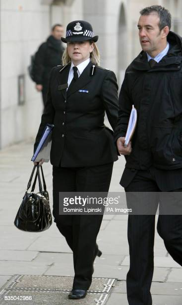 Assistant Chief Constable Debbie Simpson arrives at the Old Bailey London for the sentencing of Nicky Reilly who accidentally set off a homemade nail...