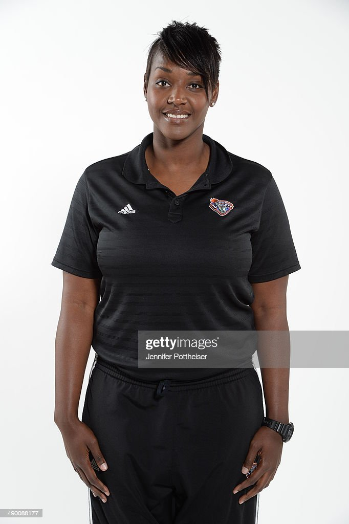 Assistant Coach Barbara Farris of the New York Liberty poses for a portrait during 2014 WNBA Media Day at the MSG Training Facility on May 12, 2014 in Tarrytown, New York.