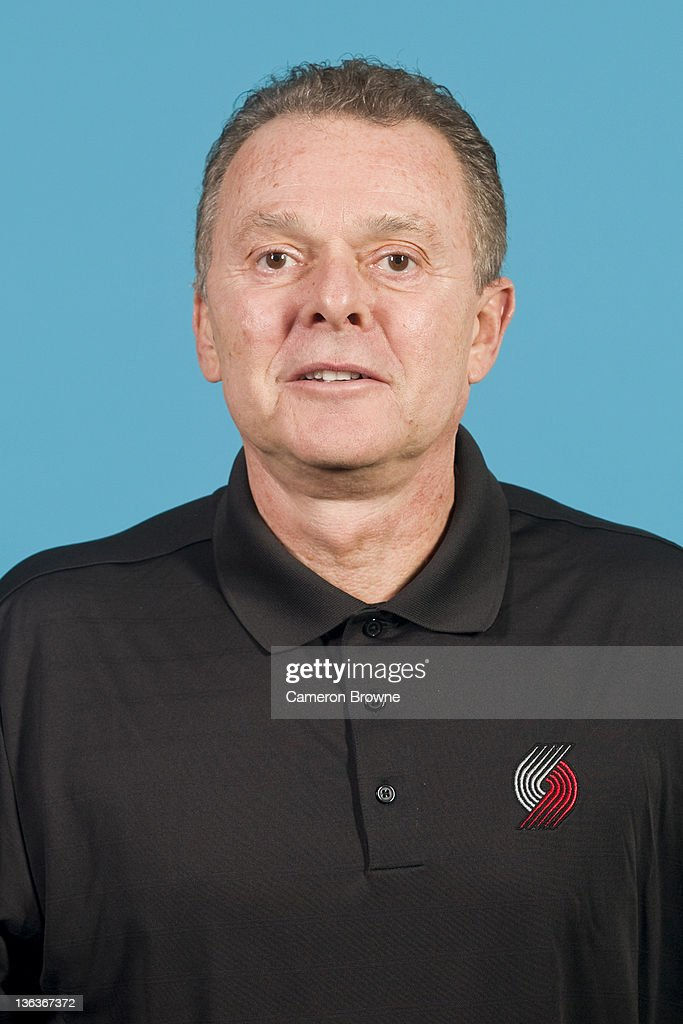Assistant coach Bob Ociepka of the Portland Trail Blazers poses for a portrait during Media Day on December 16, 2011 at the Rose Garden Arena in Portland, Oregon.