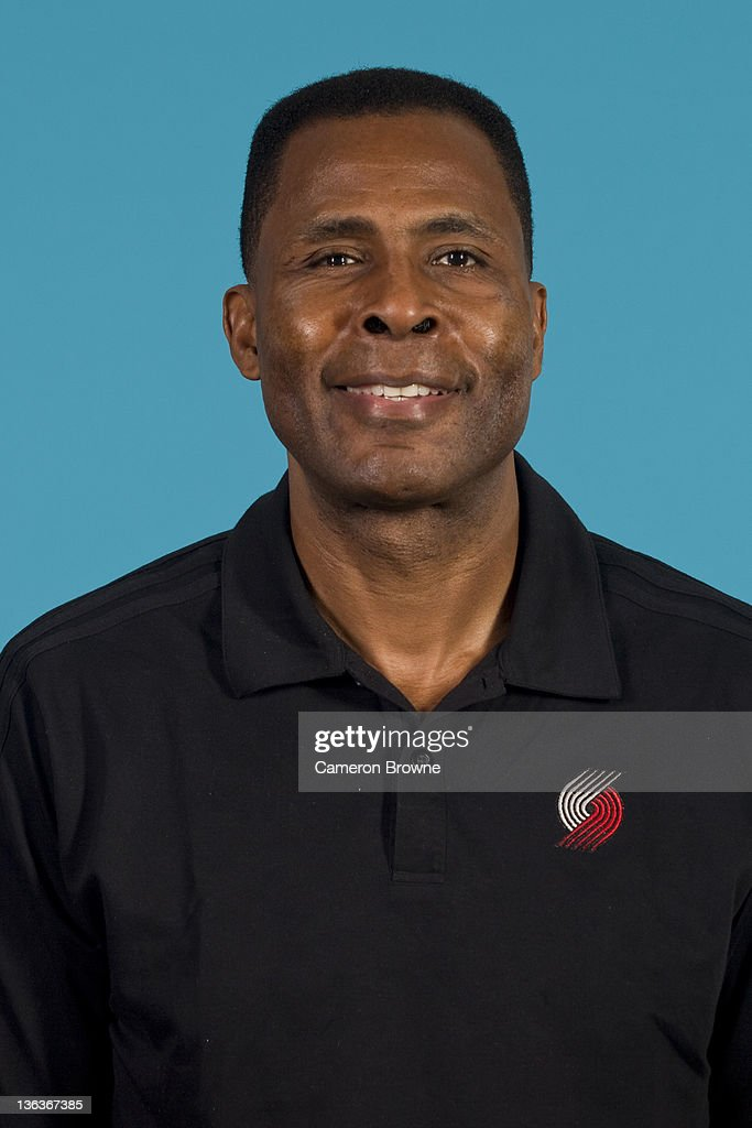 Assistant coach Buck Williams of the Portland Trail Blazers poses for a portrait during Media Day on December 16, 2011 at the Rose Garden Arena in Portland, Oregon.