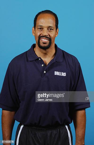 Assistant coach Charlie Parker of the Dallas Mavericks poses for a portrait during NBA Media Day on October 4 2004 in Dallas Texas NOTE TO USER User...
