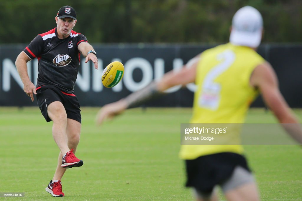St Kilda Saints Training Session