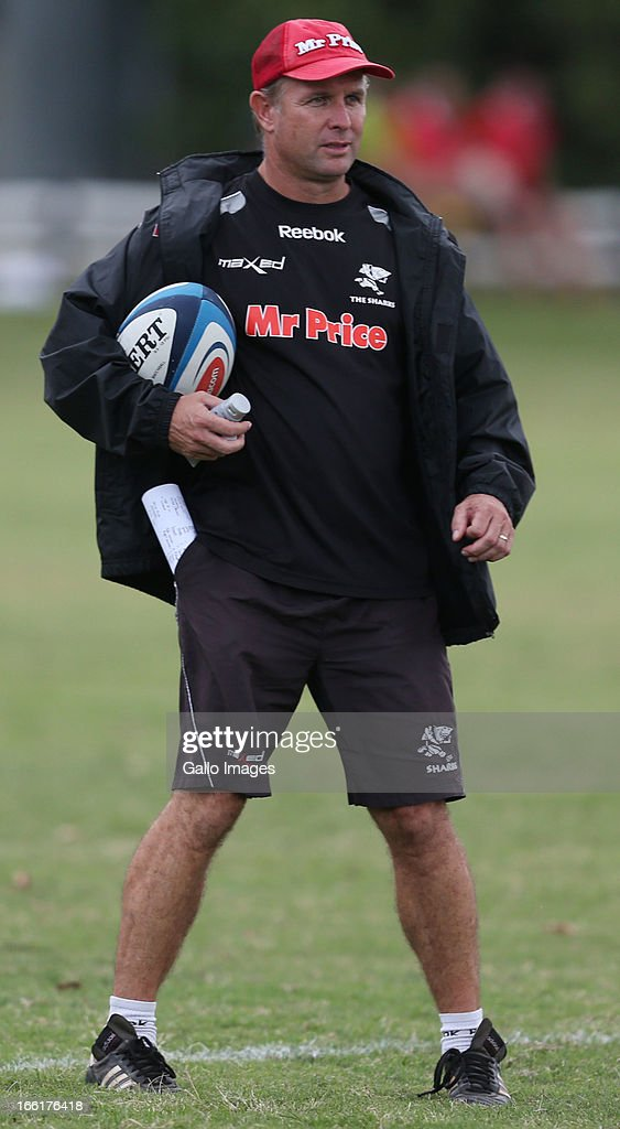 2013 SupeRugby: The Sharks Training Session