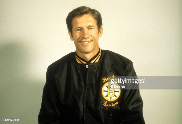 Assistant coach Jean Ratelle of the Boston Bruins poses for a portrait in September 1981 in Boston Massachusetts
