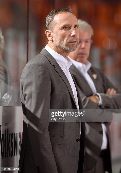 assistant coach Miloslav Horava of the Grizzlys Wolfsburg during the action shot on September 25 2016 in Wolfsburg Germany
