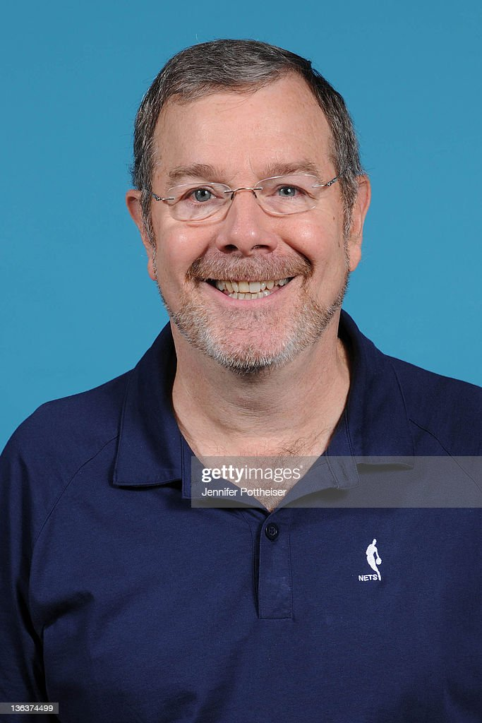 Assistant Coach PJ Carlesimo of the New Jersey Nets poses for a portrait during media day at PNY Center on December 15 2011 in East Rutherford New...