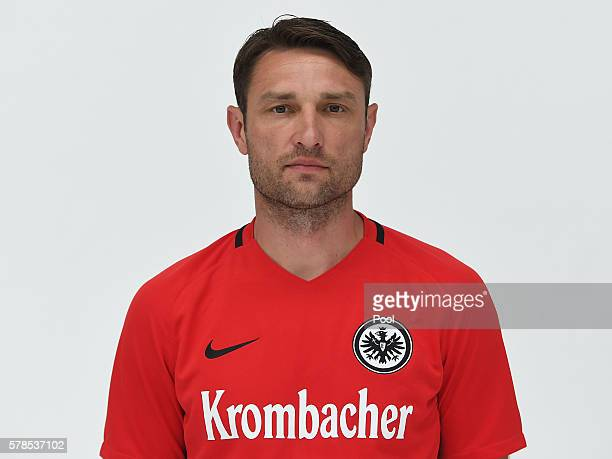 Assistant coach Robert Kovac poses during the Eintracht Frankfurt Team Presentation on July 21 2016 in Frankfurt am Main Germany