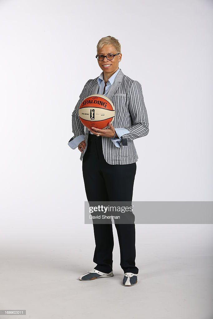 Assistant Coach Shelley Patterson of the Minnesota Lynx poses for portraits during 2013 Media Day on May 16, 2013 at the Minnesota Timberwolves and Lynx LifeTime Fitness Training Center at Target Center in Minneapolis, Minnesota.