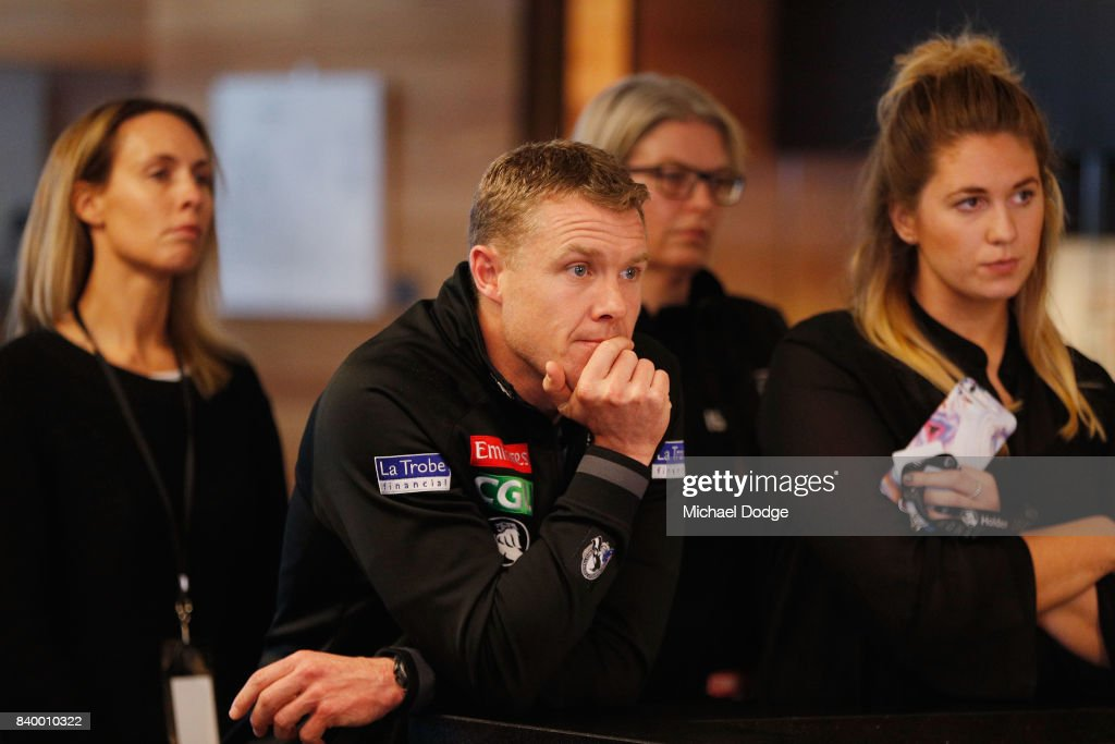 Collingwood Magpies Press Conference