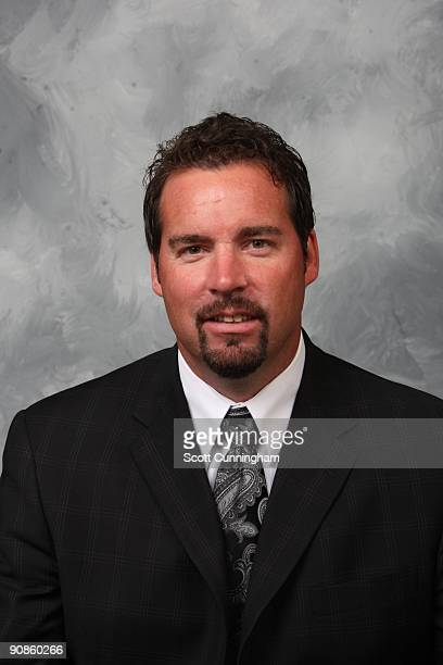 Assistant Coach Todd Nelson of the Atlanta Thrashers poses for his official headshot for the 20092010 NHL season