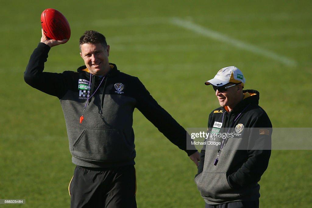 Richmond Tigers Training Session