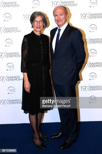 Assistant DirectorGeneral for Natural Sciences Doctor Flavia Schlegl and Chairman Chief Executive Officer of L'Oreal and Chairman of the L'Oreal...