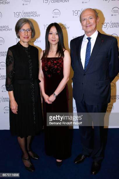 Assistant DirectorGeneral for Natural Sciences Doctor Flavia Schlegl Laureate for North America Professor Zhenan Bao and Chairman Chief Executive...