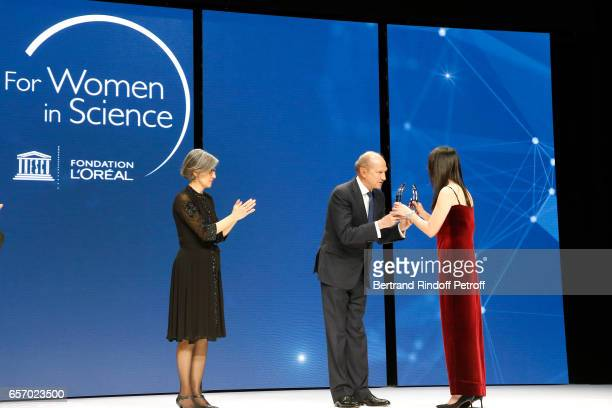 Assistant DirectorGeneral for Natural Sciences Doctor Flavia Schlegl and Chairman Chief Executive Officer of L'Oreal Chairman of the L'Oreal...