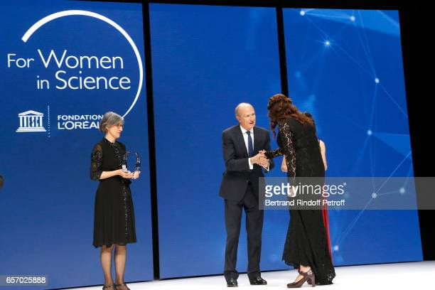 Assistant DirectorGeneral for Natural Sciences Doctor Flavia Schlegl Chairman Chief Executive Officer of L'Oreal and Chairman of the L'Oreal...