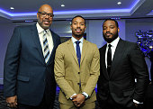 Assistant Director/producer Donald L Sparks Actor Michael B Jordan and Director Ryan Coogler attend the 40th Annual Los Angeles Film Critics...