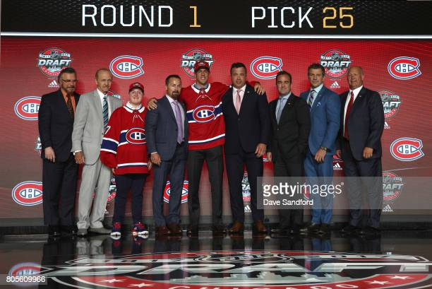 Assistant general manager Rick Dudley Bill Berglund draft runner Jake Timmins VP of player personnel Trevor Timmins 25th overall pick Ryan Poehling...