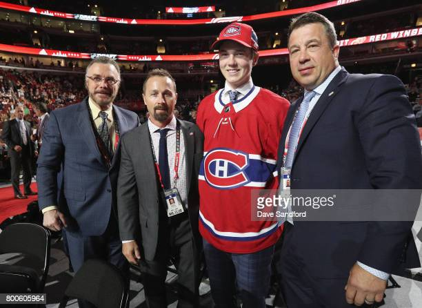 Assistant general manager Rick Dudley VP of Player Personnel Trevor Timins Cale Fleury 87th overall pick of the Montreal Canadiens and scout Shane...
