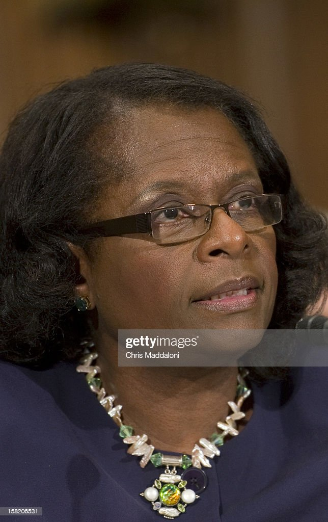 Assistant HUD Secretary for Public and Indian Housing Sandra Henriquez testifies before the Senate Banking, Housing and Urban Affairs Committee on 'Streamlining and Strengthening HUD's Rental Housing Assistance Programs.'