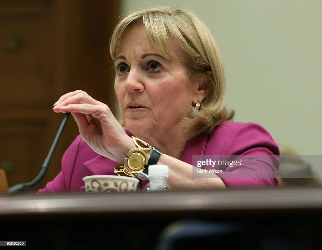 Assistant Secretary of State for Near Eastern Affairs, Anne Patterson testifies during a House Foreign Affairs Committee hearing on Capitol Hill, November 4, 2015 in Washington, DC. The committee is hearing testimony from State DepartmentÊofficials onÊU.S. policy after Russia's escalation in Syria.