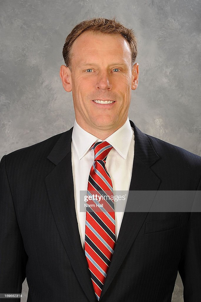 Assistant to the general manager <a gi-track='captionPersonalityLinkClicked' href=/galleries/search?phrase=Sean+Burke&family=editorial&specificpeople=204179 ng-click='$event.stopPropagation()'>Sean Burke</a> of the Phoenix Coyotes poses for his official headshot for the 2012-2013 season on January 13, 2013 at the Jobing.com Arena in Glendale, Arizona.