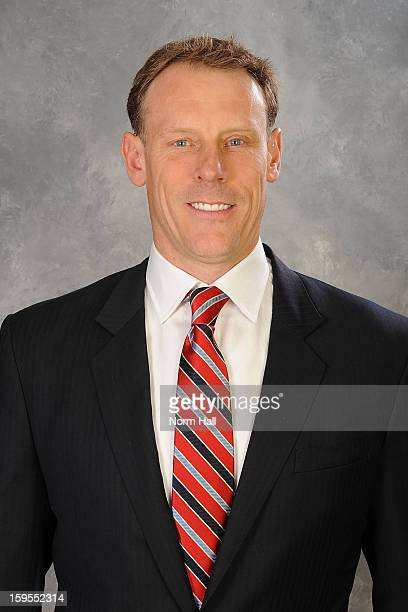 Assistant to the general manager Sean Burke of the Phoenix Coyotes poses for his official headshot for the 20122013 season on January 13 2013 at the...
