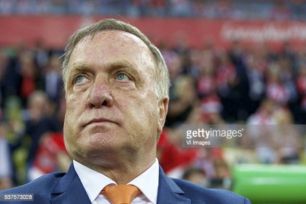 assistant trainer Dick Advocaat of Holland during the International friendly match between Poland and Netherlands on June 1 2016 at the Gdansk Arena...