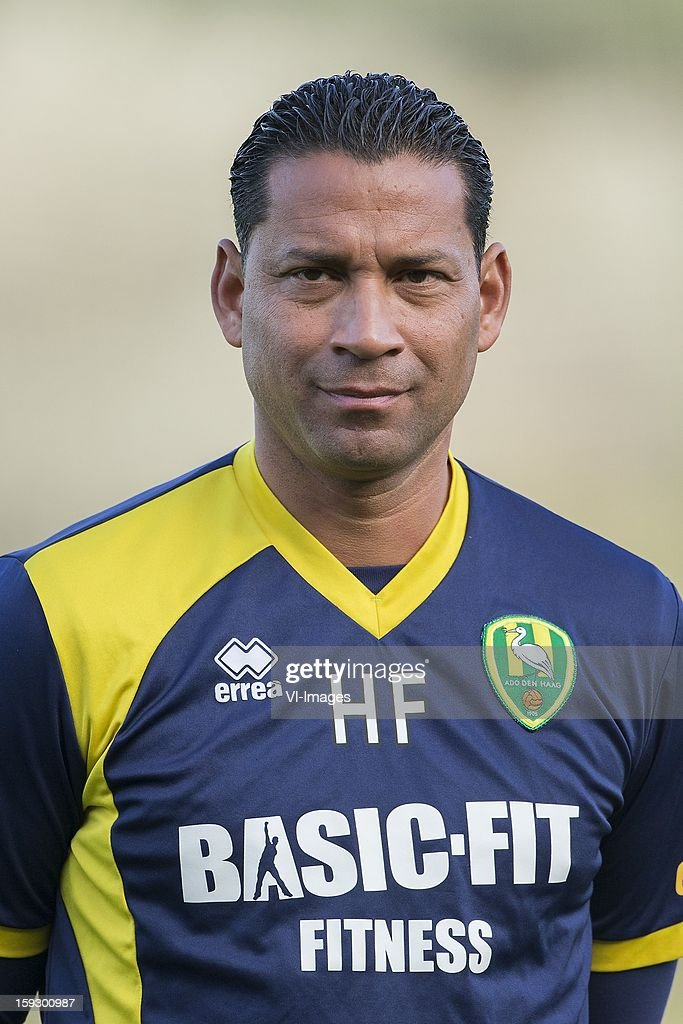 Assistant Trainer Henk Fraser of ADO Den Haag during the training camp of ADO Den Haag on January 11, 2013 at Estepona, Spain.