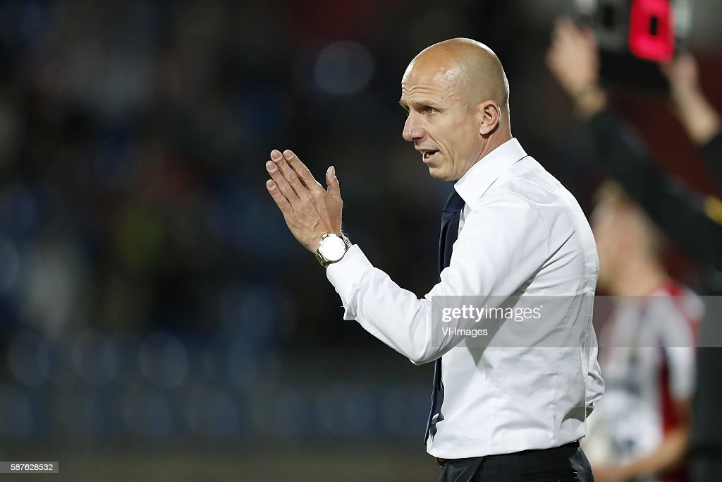 assistant trainer Reinier Robbemond of Willem II during the Dutch Eredivisie match between Willem II and Vitesse on august 6 2016 at the Koning...