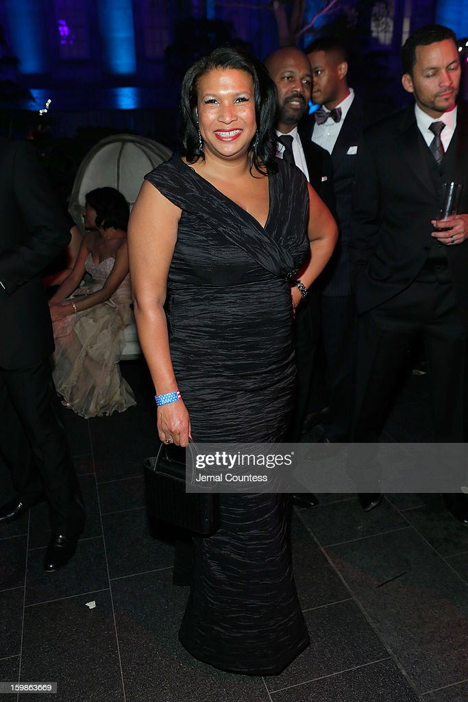 Assistant VP Federal Relations of AT&T Marie Long attends the Inaugural Ball hosted by BET Networks at Smithsonian American Art Museum & National Portrait Gallery on January 21, 2013 in Washington, DC.