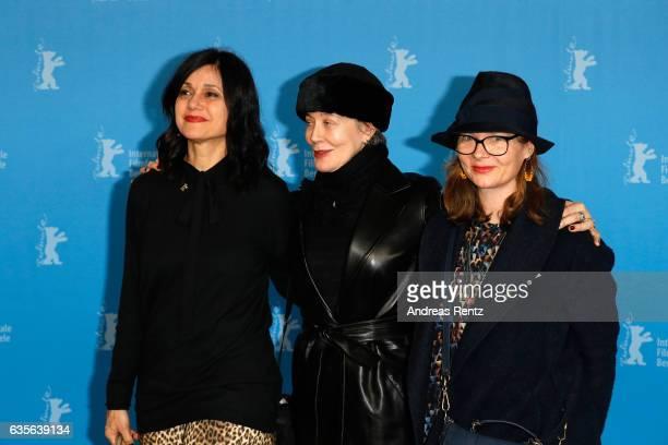 Assistants Raffaella Fandasia costume designer Milena Canonero and assitant and Stefanie Bruhn attend the 'The Shining Hommage Milena Canonero' photo...
