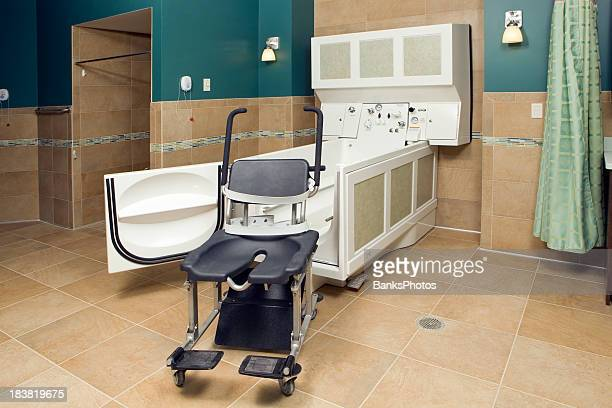 Assisted Living Seated Bathing System