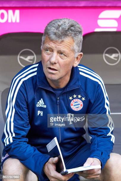 Assistent coach Peter Hermann of Bayern Muenchen looks on during the Bundesliga soccer match between FC Bayern Munich and SC Freiburg at Allianz...