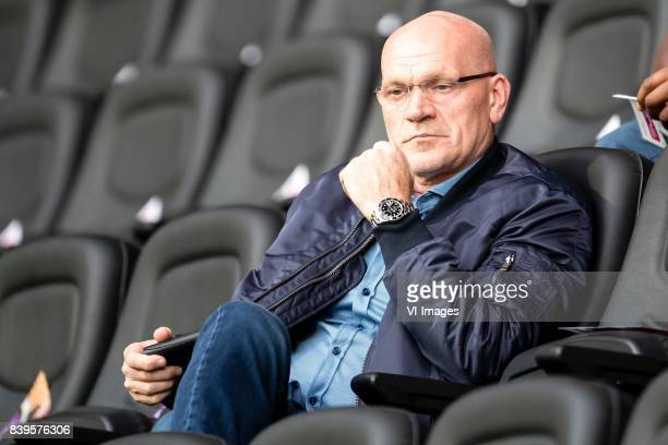 assistent trainer Jan Wouters of Feyenoord during the Dutch Eredivisie match between Heracles Almelo and sbv Excelsior at Polman stadium on August 26...