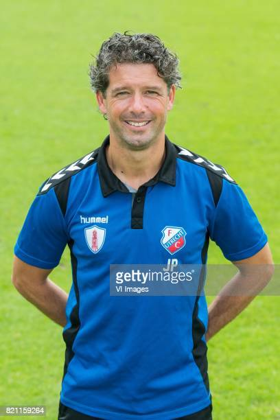 assistent trainer JeanPaul de Jong during the team presentation of FC Utrecht on July 22 2017 at Sportcomplex Zoudenbalch in Utrecht The Netherlands